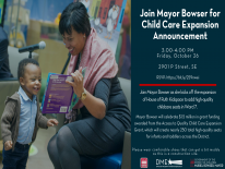 Mayor Bowser Host Slow Down Campaign at Garfield Elementary School
